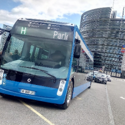 STRASBOURG | Une nouvelle ligne de bus 100% électrique &agrave la fin de l'année entre la gare et le