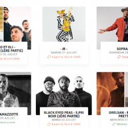 MUSIQUE | Bigflo & Oli, Black Eyed Peas ou encore -M- viennent compléter la programmation de la #FAV