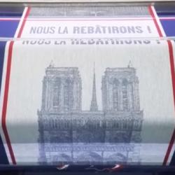 "SOLIDARITE | Des torchons pour Notre-Dame ""made in Vosges"""