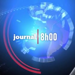 Journal 8H - lundi 13 mai