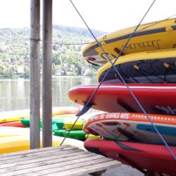 DECOUVERTE   A une heure de l'Alsace : &agrave la découverte des sports nautiques &agrave Gérardmer