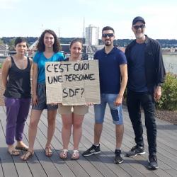 THEâTRE | Des étudiants s'interrogent sur la condition des SDF &agrave Mulhouse