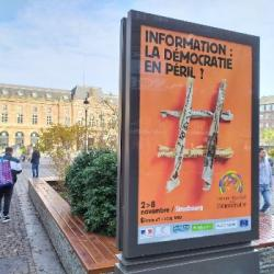 SOCIETE | Le Forum Mondial de la Démocratie s'intéresse &agrave l'information et &agrave son influen