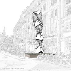 ART | Une sculpture monumentale attendue d'ici 2 ans &agrave Strasbourg
