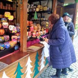 NOËL   Derniers préparatifs avant le lancement du Marché de Noël &agrave Strasbourg