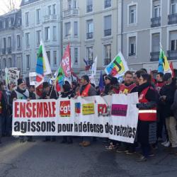 SOCIAL   Retour sur la mobilisation mulhousienne de ce 10 décembre