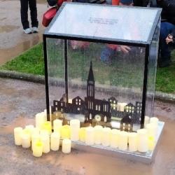 HOMMAGE | Retour sur la cérémonie et l'inauguration de la stèle en hommage aux victimes de l'attenta