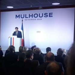 RETOUR SUR... | La visite et les annonces d'Emmanuel Macron &agrave Bourtzwiller