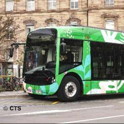 STRASBOURG   La CTS lance sa nouvelle ligne H avec des bus 100% électriques