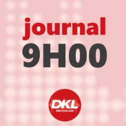 Journal 9h - mercredi 4 mars