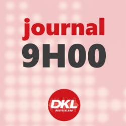 Journal 9h - mercredi 11 mars