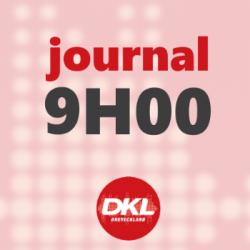 Journal 9h - lundi 16 mars