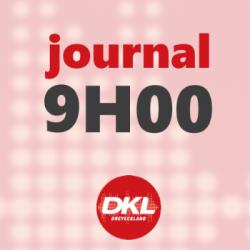 Journal 9h - mercredi 25 mars