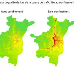 CONFINEMENT | L'amélioration de la qualité de l'air se confirme dans le fossé rhénan selon ATMO Gran