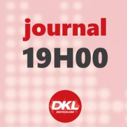 Journal 19h - jeudi 2 avril