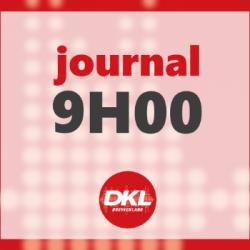 Journal 9h - lundi 11 mai