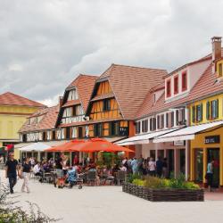 DECONFINEMENT   Une réouverture prudente pour le village de marques de Roppenheim