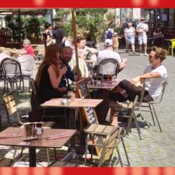 DECONFINEMENT | A Strasbourg, des terrasses déj&agrave bien remplies au premier jour de réouverture