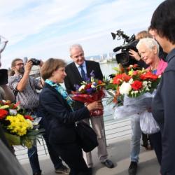 FRONTIERES | Les Alsaciens retrouvent avec émotion leurs voisins Badois depuis hier