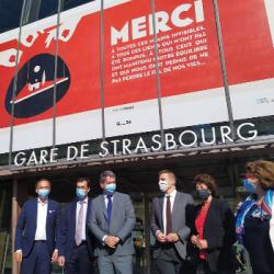 TRANSPORTS   Le patron de la SNCF en Alsace pour évoquer la future ouverture &agrave la concurrence