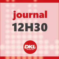 Journal 12h30 - jeudi 9 juillet