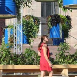 NATURE | Visite au coeur du jardin éphémère de la place de la Réunion &agrave Mulhouse