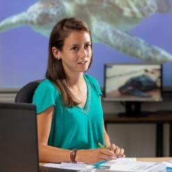 SCIENCES   Lorène Jeantet, jeune chercheuse strasbourgeoise primée pour ses recherches sur les tortu