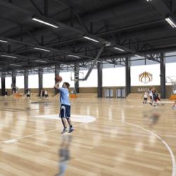 STRASBOURG   Pour faire du basket 7j/7 et 24h24 : le Basket Center sort de terre face &agrave la Mei