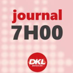 Journal 7h - jeudi 8 octobre