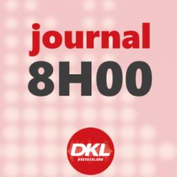 Journal 8h - jeudi 8 octobre