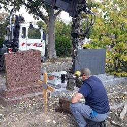 TOUSSAINT | Dans les coulisses du cimetière central de Mulhouse
