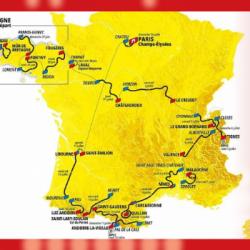 TOUR DE FRANCE   Le parcours 2021 dévoilé... en zappant le tiers nord-est du pays