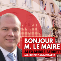 BONJOUR M. LE MAIRE DE DANNEMARIE (68)