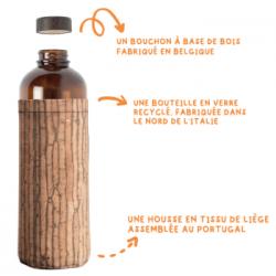 ECOLOGIE   Deux haut-rhinois lancent une gourde en verre recyclé : Ecob