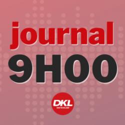 Journal 9h - mercredi 13 janvier