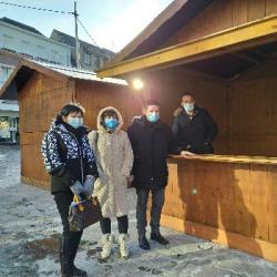 INITIATIVE   A Haguenau, la ville met &agrave disposition des chalets pour le click-and-collect des