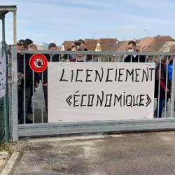 WITTENHEIM | La colère des salariés de l'entreprise Frina Mousse pour conserver leurs emplois