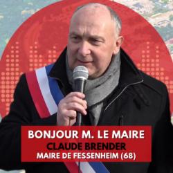 BONJOUR M. LE MAIRE DE FESSENHEIM (68)